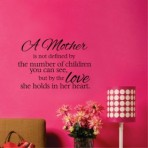 A mothers- wall Decal